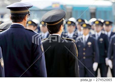 警察 視閲式 27452065