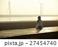 台湾を観光する女性 高美湿地 27454740