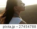 台湾を観光する女性 高美湿地 27454788