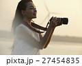 台湾を観光する女性 高美湿地 27454835