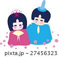 おひなさま ピンク 27456323