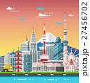 東京都 ベクトル 街のイラスト 27456702