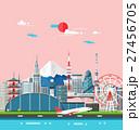 東京都 ベクトル 街のイラスト 27456705