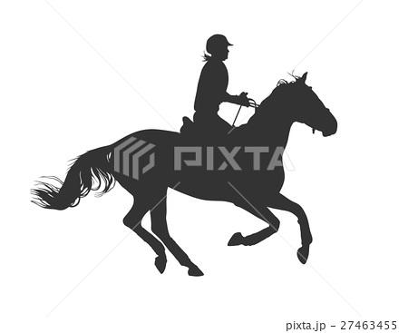 Horsewomanのイラスト素材 [27463455] - PIXTA
