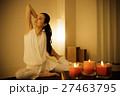 ヨガ 瞑想 フィットネスの写真 27463795
