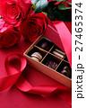 バレンタイン バレンタインデー チョコレートの写真 27465374