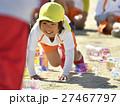運動会 人物 子供の写真 27467797