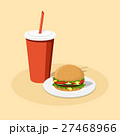 burger and cola 27468966
