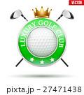 GOLF ゴルフ ラグジュアリーのイラスト 27471438