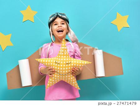 girl in an astronaut costume 27471479