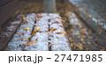雪 ベンチ 冬の写真 27471985