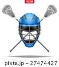 Lacrosse sticks and helmet Label 27474427