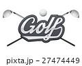 タグ GOLF ゴルフのイラスト 27474449