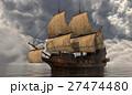 船 帆 航海のイラスト 27474480