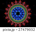 Mandala flower - abstract digitally generated 27479032