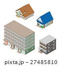 様々な建物 / 立体図 27485810