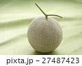 メロン マスクメロン 果物の写真 27487423