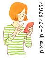 ナチュラル 女性 27487654