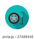 タイヤ ベクトル ポンプのイラスト 27488448