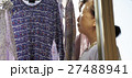 高齢者 洗濯 洗濯物の写真 27488941