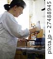 女性 高齢者 一人暮らしの写真 27488945