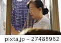 女性 高齢者 一人暮らしの写真 27488962