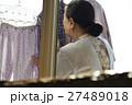 女性 高齢者 一人暮らしの写真 27489018