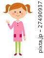 OKサインをする女の子 27490937