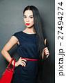 ファッション 流行 女の写真 27494274