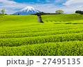 茶畑と富士山 27495135