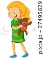 子供 子 少女のイラスト 27495829