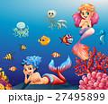 動物 海 水のイラスト 27495899