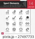 スポーツ ベクトル アイコンのイラスト 27497733