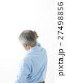 シニア 男性 髪の写真 27498856