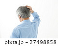 シニア 男性 髪の写真 27498858