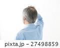 シニア 男性 髪の写真 27498859