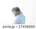 シニア 男性 髪の写真 27498860