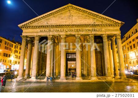 Pantheon at the Piazza della Rotonda 27502031