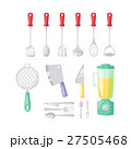ベクトル キッチンウェア 調理用品のイラスト 27505468
