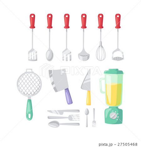 Kitchenware vector icons. 27505468