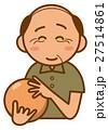 ボウリング おじいちゃんのイメージイラスト 27514861
