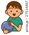 ボウリング ベクター ボールのイラスト 27514867
