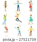 ジャンプ 人々 人物のイラスト 27521739