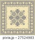 パターン 模様 花柄のイラスト 27524983