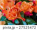 バラ 花束 オレンジの写真 27525472