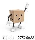 ボックス ダンボール 段ボールのイラスト 27526088