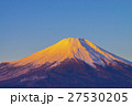 朝焼けの富士山 27530205