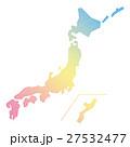 日本地図 日本 日本列島のイラスト 27532477