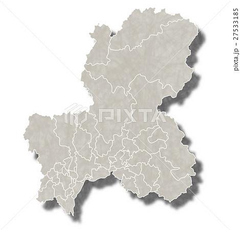 岐阜 日本 地図 アイコン 27533185