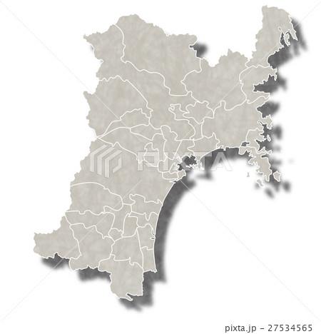宮城 日本 地図 アイコン  27534565